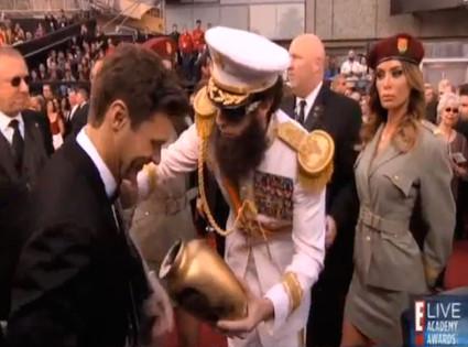 Ryan Seacrest, Dictator, Sasha Baron Cohen