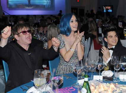 Elton John, Katy Perry, Adam Lambert