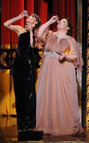 Rose Byrne, Melissa McCarthy, Bridemaids