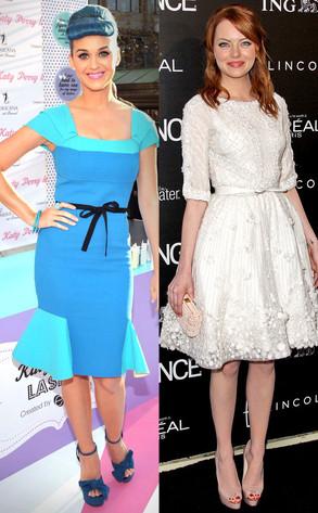Katy Perry, Emma Stone
