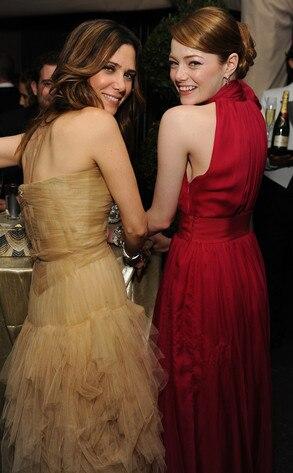 Kristen Wiig, Emma Stone