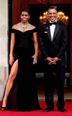 Obama, Angelina Leg