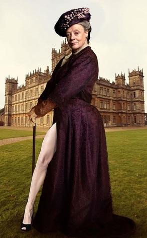 Maggie Smith, Angelina Jolie's Leg