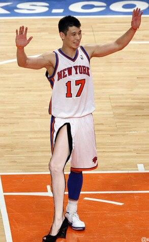 Jeremy Lin, Angelina Leg