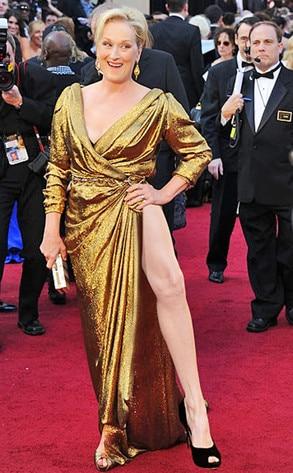 Meryl Streep, Angelina Jolie Leg