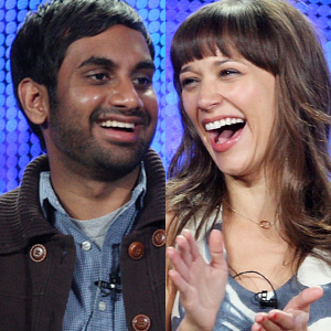 Aziz Ansari, Rashida Jones