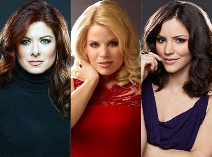 Smash, Katharine McPhee, Megan Hilty, Debra Messing