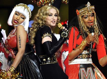 Madonna, Nicki Minaj, M.I.A.