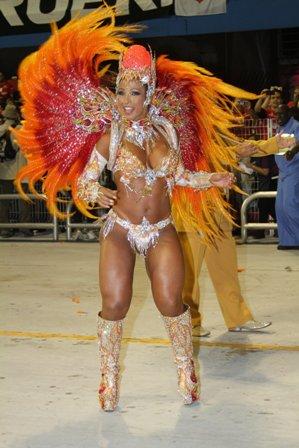 Madrinha de escolas de samba