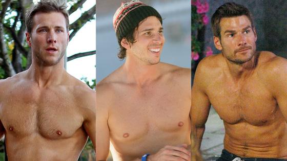Jake Pavelka, Ben Flajnik, Brad Womack, The Bachelor