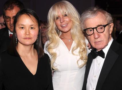 Soon-Yi Previn, Lindsay Lohan, Woody Allen
