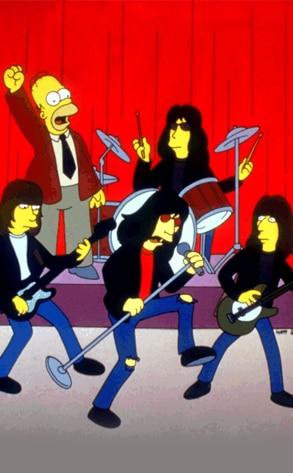 The Ramones, The Simpsons