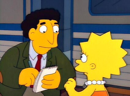 Dustin Hoffman, The Simpsons