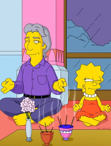 Richard Gere, The Simpsons