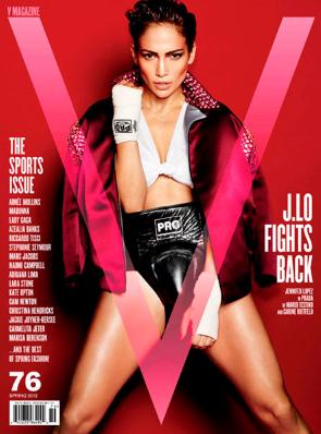 Jennifer Lopez V Magazine