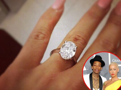 Wiz Khalifa Amber Rose Ring