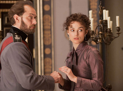 Anna Karenina, Keira Knightley, Jude Law