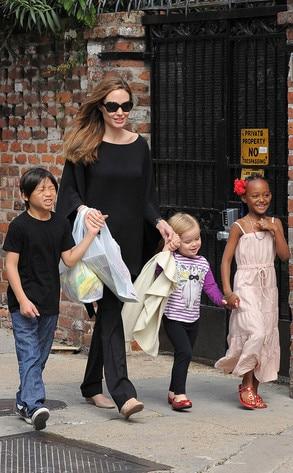Angelina Jolie, Pax, Zahara, Vivienne