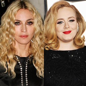 Madonna, Adele