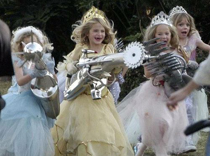 Princesses with weapons, soup