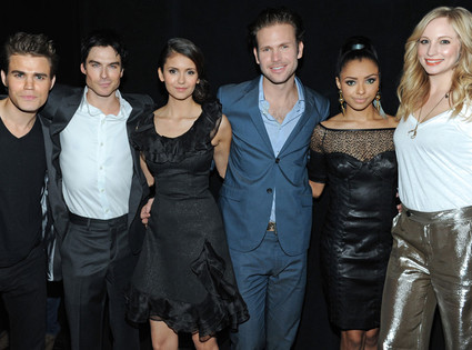 The Vampire Diaries, Paul Wesley, Ian Somerhalder, Nina Dobrev, Matt Davis, Kat Graham, Candice Accola