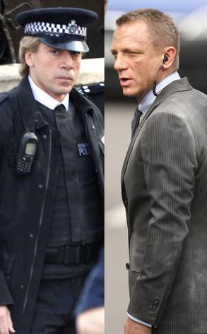Javier Bardem, Daniel Craig