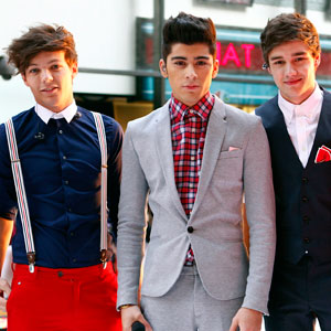 Louis Tomlinson, Zayn Malik, Liam Payne, One Direction