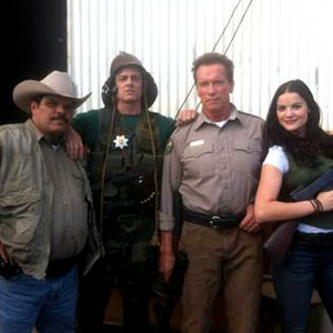 The Last Stand, johnny Knoxville, Arnold Schwarzenegger