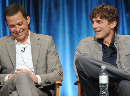 Jon Cryer, Ashton Kutcher, Two and a Half Men