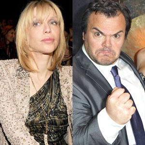 Courtney Love, Jack Black