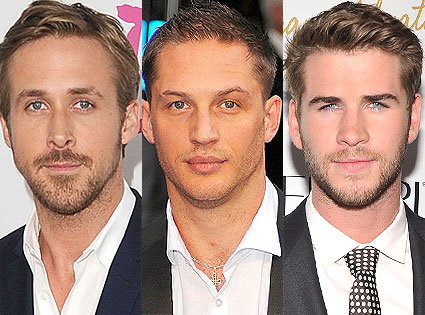 Ryan Gosling, Tom Hardy, Liam Hemsworth