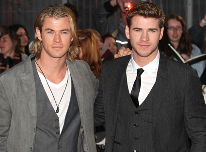 Chris Hemsworth, Liam Hemsworth