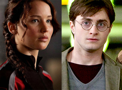 Hunger Games, Harry Potter