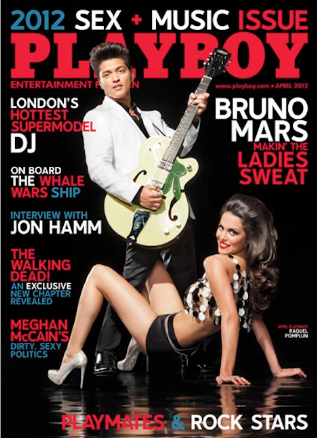 Bruno Mars en Playboy