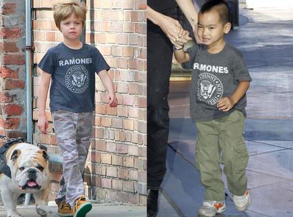 Shiloh Jolie-Pitt, Maddox Jolie-Pitt