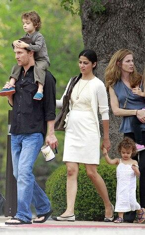 Matthew McConaughey, Camila Alves, Levi, Vida