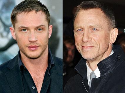 Tom Hardy, Daniel Craig