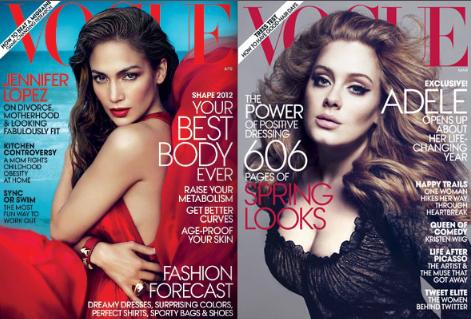 Jennifer Lopez, Adele