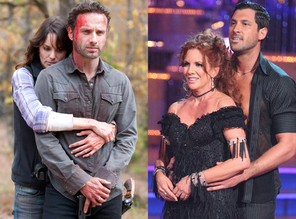 Walking Dead, Dancing with the Stars
