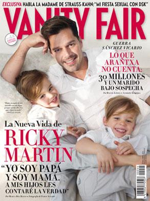 Vanity Fair, Ricky Martin