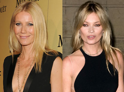 Gwyneth Paltrow, Kate Moss