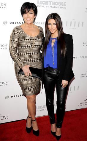 Kris Jenner, Kim Kardashian