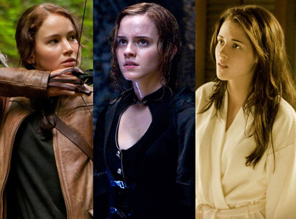 Twilight Saga: Breaking Dawn, Harry Potter and the Deathly Hallows, The Hunger Games