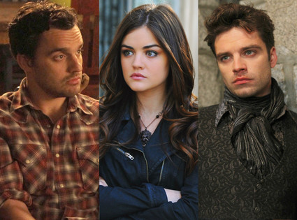 Sebastian Stan, Once Upon a Time, Pretty Little Liar, Lucy Hale, New Girl, Jake Johnson
