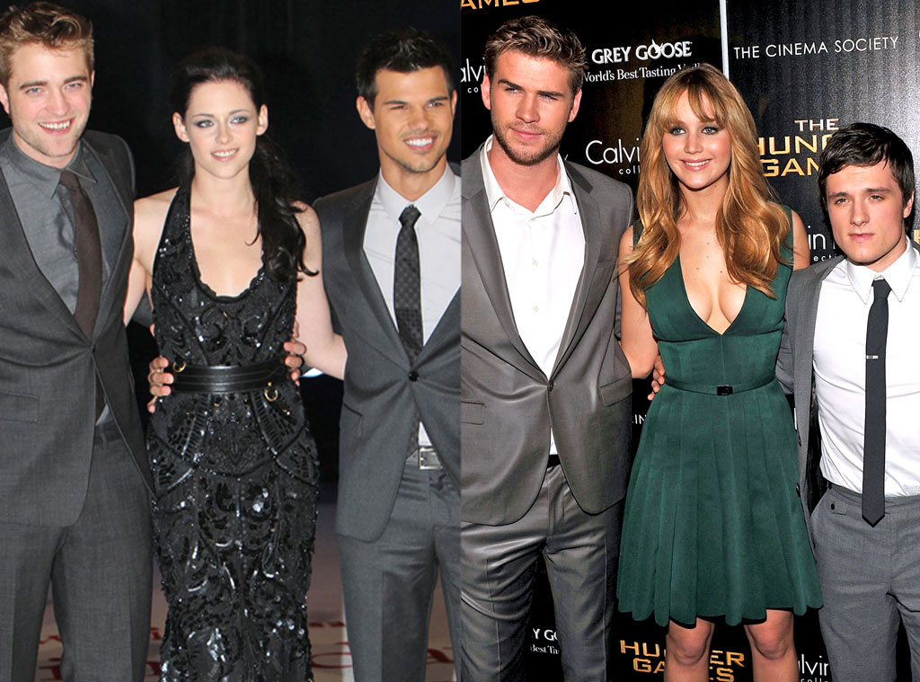 Twilight, Hunger Games