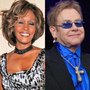 Whitney Houston, Elton John
