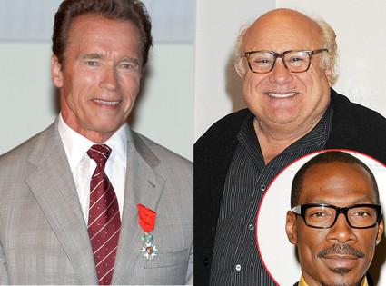 Arnold Schwarzenegger, Danny DeVito, Eddie Murphy