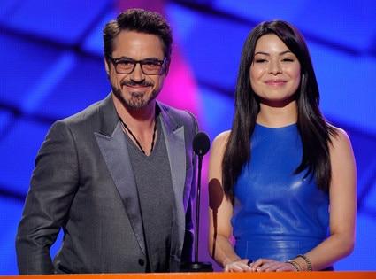 Robert Downey Jr., Miranda Cosgrove