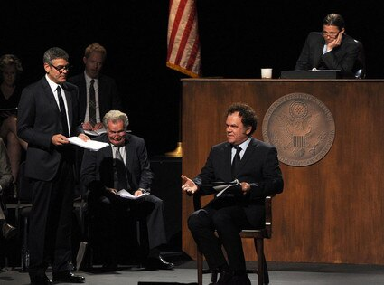 George Clooney, Jesse Tyler Ferguson, Martin Sheen, John C. Reilly, Brad Pitt