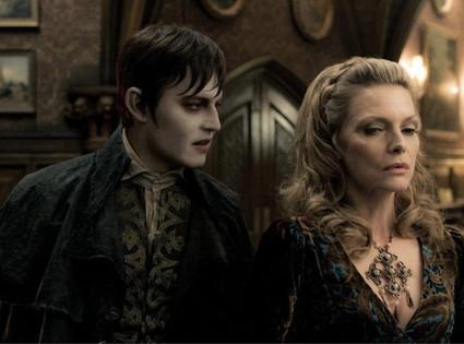 Johnny Depp, Michelle Pfeiffer, Dark Shadows